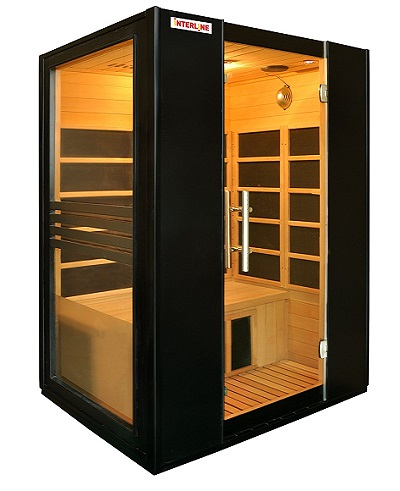 g nstige infrarotsauna f r 2 personen mobile sauna shop. Black Bedroom Furniture Sets. Home Design Ideas